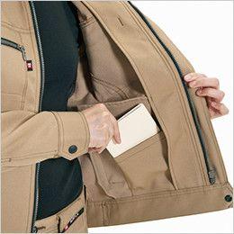 バートル 7088 制電ストレッチレディースジャケット(JIS T8118適合)(女性用) 内ポケット