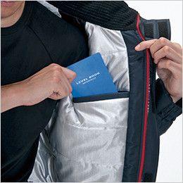 バートル 7210 [秋冬用]サーモトロン防寒ブルゾン(大型フード付)(男女兼用) 内ポケット(全天候型保温素材)