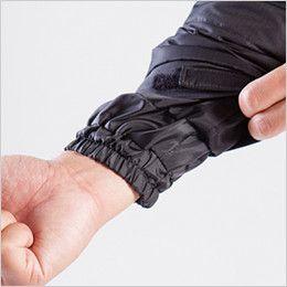 バートル 7510 リップクロス防寒ジャケット(大型フード付)(男女兼用) インナーカフス仕様