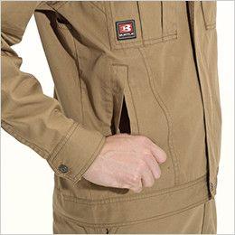 バートル 8031 チノクロスジャケット(綿100%)(男女兼用) 逆玉ポケット