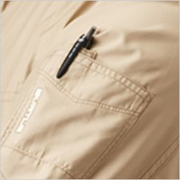 AC1111 バートル エアークラフト[空調服]長袖ジャケット(男女兼用) ポリ100% ペン差しポケット