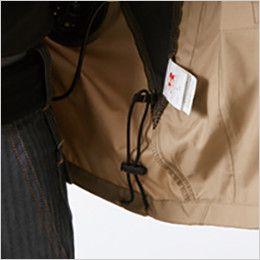AC1111 バートル エアークラフト[空調服]長袖ジャケット(男女兼用) ポリ100% ドローコード