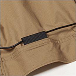 バートル AC1131 エアークラフト[空調服]長袖ブルゾン(男女兼用) 綿100% コードストッパー(マジックテープ止め)