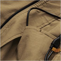AC1141SET バートル エアークラフトセット[空調服]綿100% ハーネス対応  長袖ブルゾン(男女兼用) コードホール