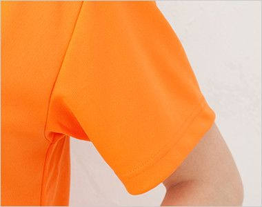 ドライポロシャツ(ポケ無し)(4.1オンス)(男女兼用) 袖口部分