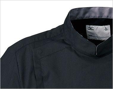 MZ-0129 ミズノ(mizuno) クールマックス メンズケーシージャケット(男性用) ボタンとファスナー