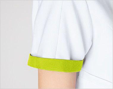 7039EW FOLK(フォーク) レディス ジップスクラブ(女性用) 折り返して着られる袖デザイン
