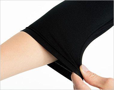 9001 FOLK(フォーク) レディースインナーカットソー[返品NG](女性用) 腕まくりしてもずり落ちず、袖口のたるみもおこりにくいフィット感