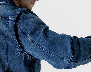 7340 アイズフロンティア ストレッチ3Dワークジャケット バツグンの動きやすさを実現