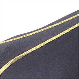 自重堂JAWIN 52024 綿素材コンプレッション ハイネック(新庄モデル) フラットシーマステッチ