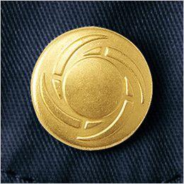 自重堂 55504 JAWIN 長袖シャツ オリジナルデザインボタン