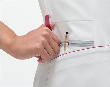 FT4592 ナガイレーベン(nagaileben) フェルネ チュニック(女性用) ループ・収納が多い多機能ポケット