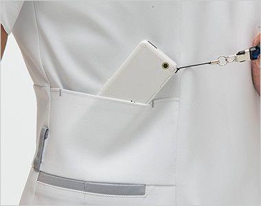 FT4622 ナガイレーベン(nagaileben) フェルネ チュニック(女性用) PHSポケット