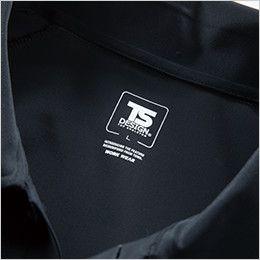 8065 TS DESIGN [春夏用]クールアイス半袖ポロシャツ(男女兼用) サイズプリント