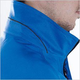 8106 TS DESIGN AIR ACTIVE ロングスリーブジャケット(男女兼用) 配色パイピング