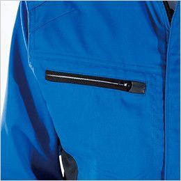 8106 TS DESIGN AIR ACTIVE ロングスリーブジャケット(男女兼用) ファスナーポケット