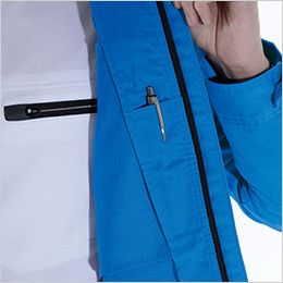 8106 TS DESIGN AIR ACTIVE ロングスリーブジャケット(男女兼用) 内側ペン差し
