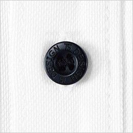 81355 TS DESIGN ES [通年]ワークニットショートポロシャツ(男女兼用) 4つ穴ボタン