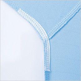 ジーベック 6015 制電長袖ポロシャツ(胸ポケット・左袖ペン差し付き)(男女兼用) 消臭テープ付き