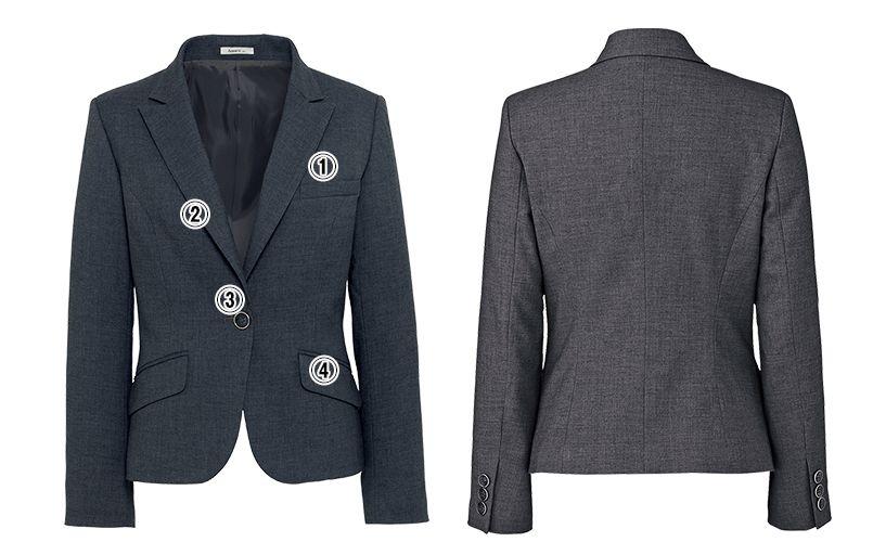 BONMAX AJ0236 [通年]セゾン ジャケット  無地 消臭加工付き 商品詳細・こだわりPOINT