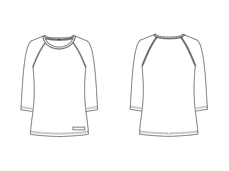 LI5097 ナガイレーベン(nagaileben)Tシャツ インナー オールシーズン対応(男女兼用) ハンガーイラスト・線画