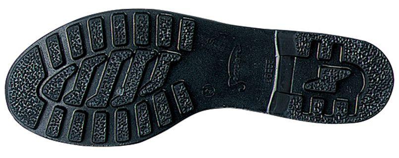 ジーベック 85028 安全半長靴 スチール先芯 アウトソール・靴底