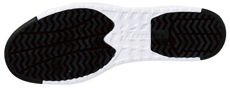 ジーベック 85115 ミッドカットセフティシューズ ミッドカット 樹脂先芯 アウトソール・靴底