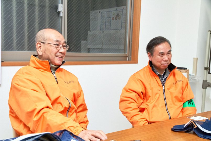 新小岩第五自治会の副会長と防犯部長