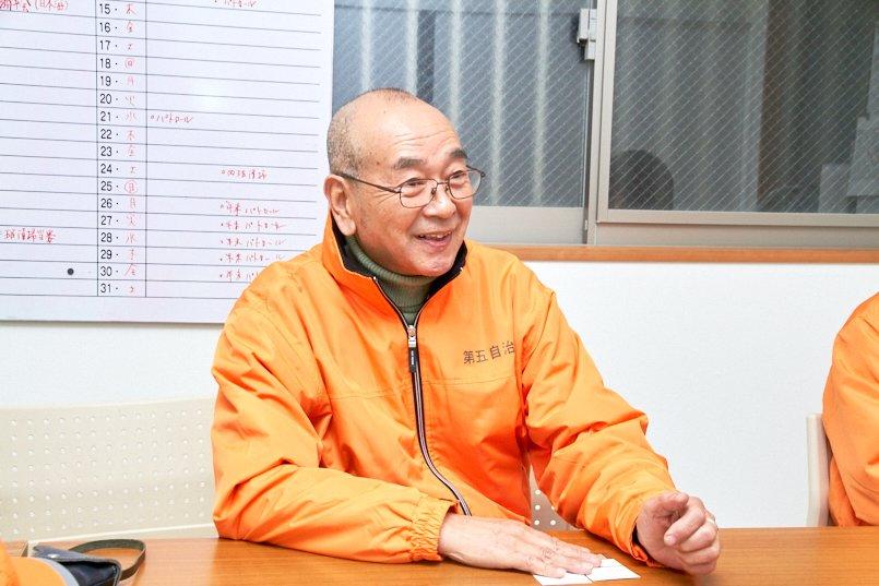 新小岩第五自治会の副会長
